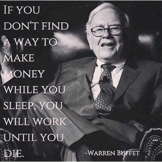 bani in somn warren buffett sfaturi