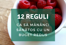 reguli mancat sanatos si ieftin