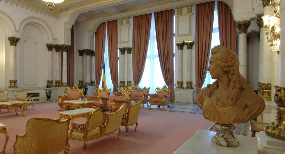 Palatul Parlamentului Casa Poporului - interior