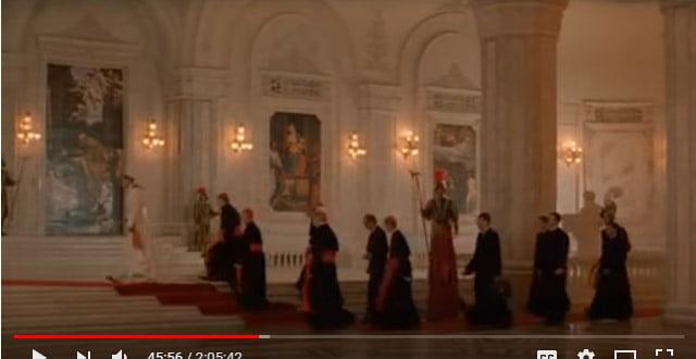Palatul Parlamentului - Casa Poporului - locatie film religios