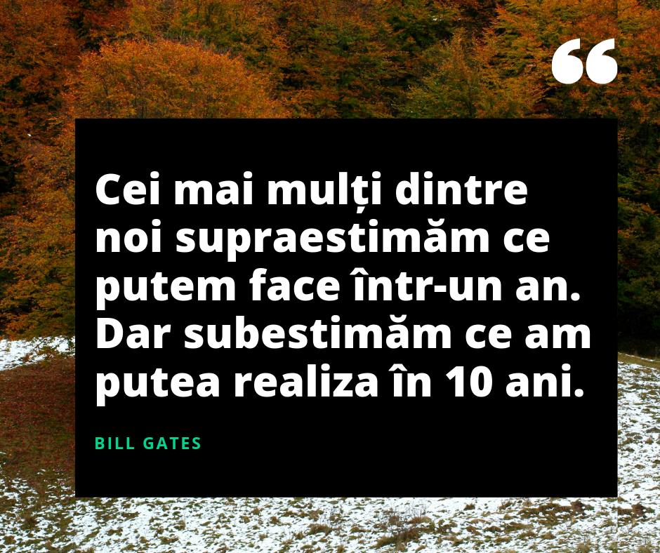 Bill Gates supraestimare citat statusuri de viata