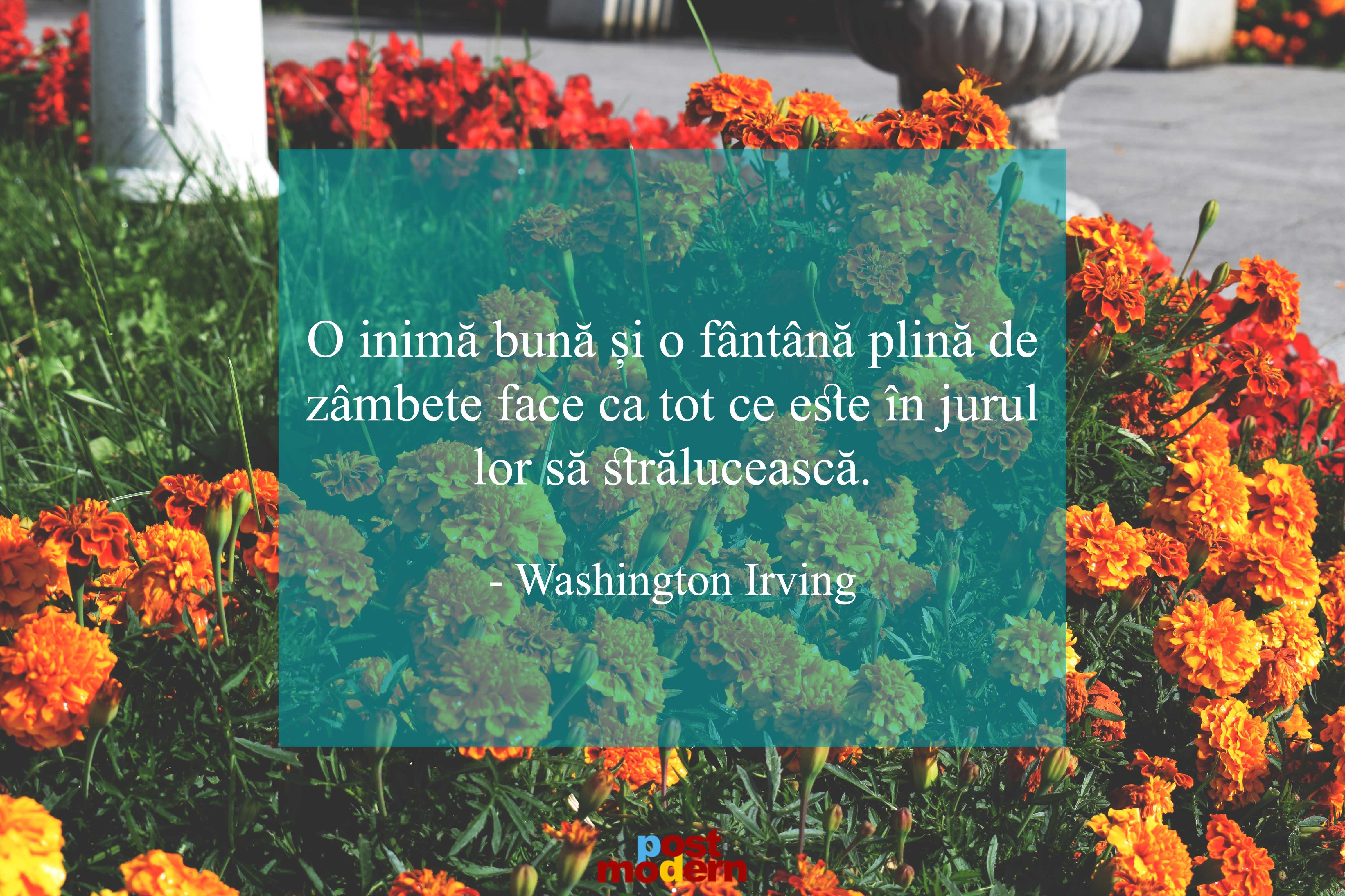 washington irving citate zambete