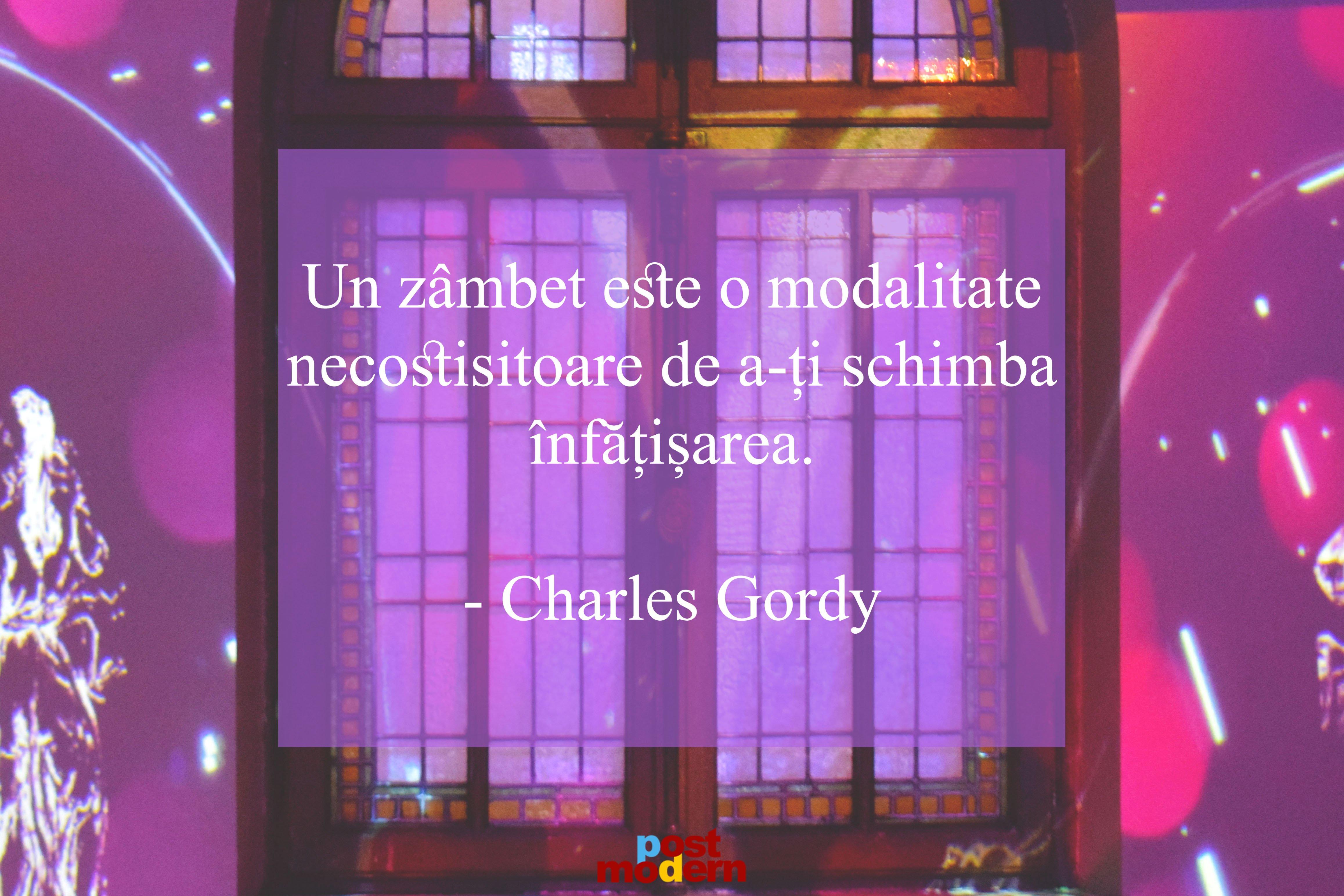 charles gordy citate zambete