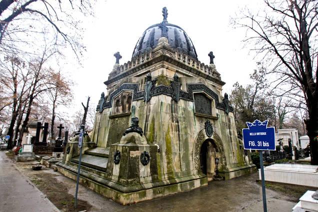 mausoleu cantacuzino cimitirul bellu