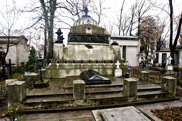 familia ghica cimitirul bellu