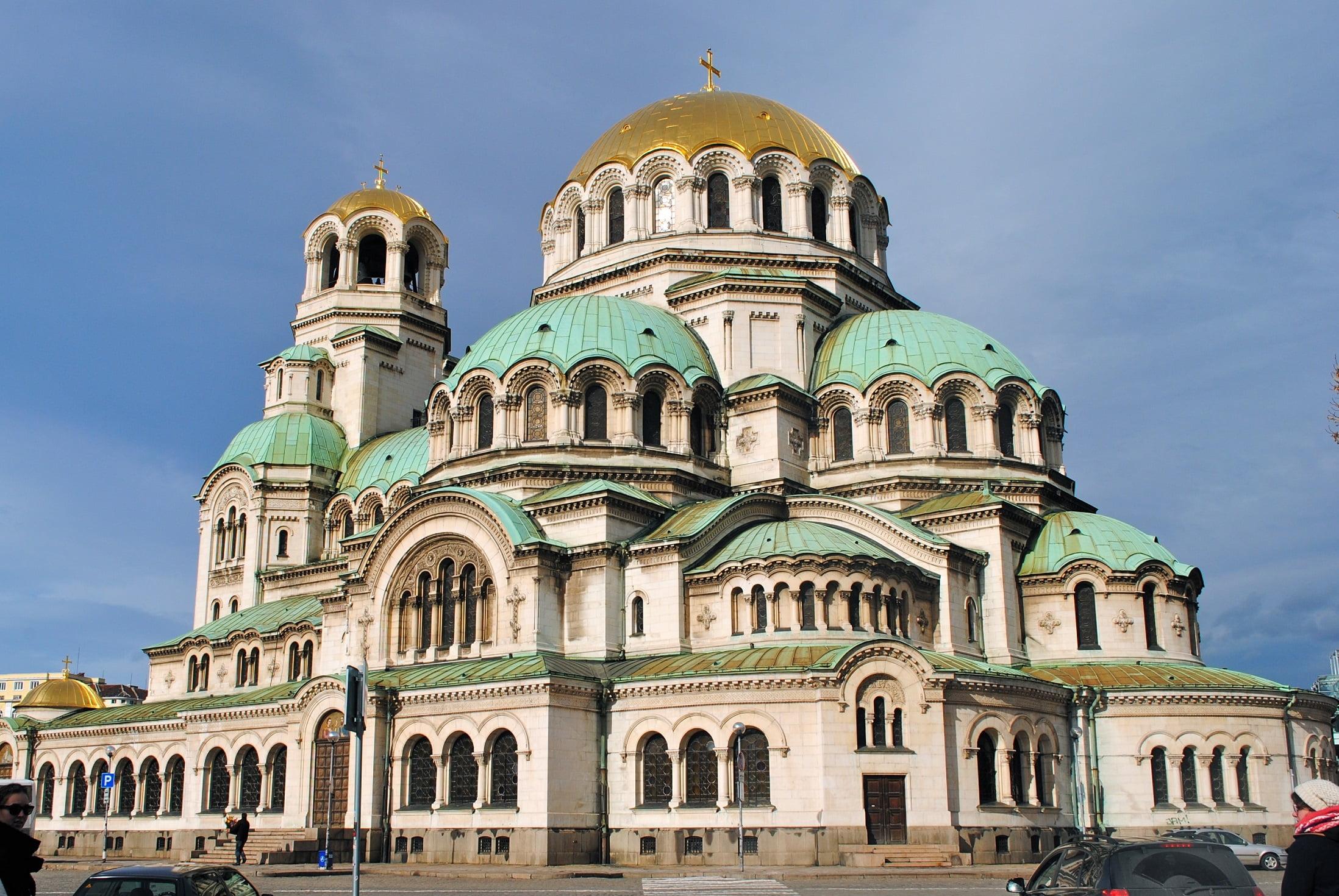 Catedrala ortodoxă Alexander Nevsky sofia bulgaria orase