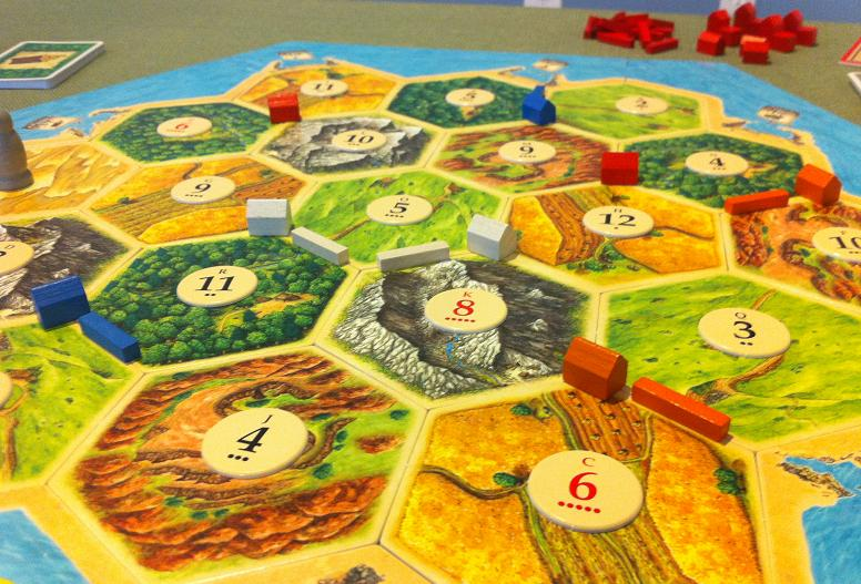 biblioteca Bucuresti - boardgame Catan