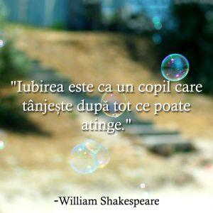 Shakespeare - citate despre iubire