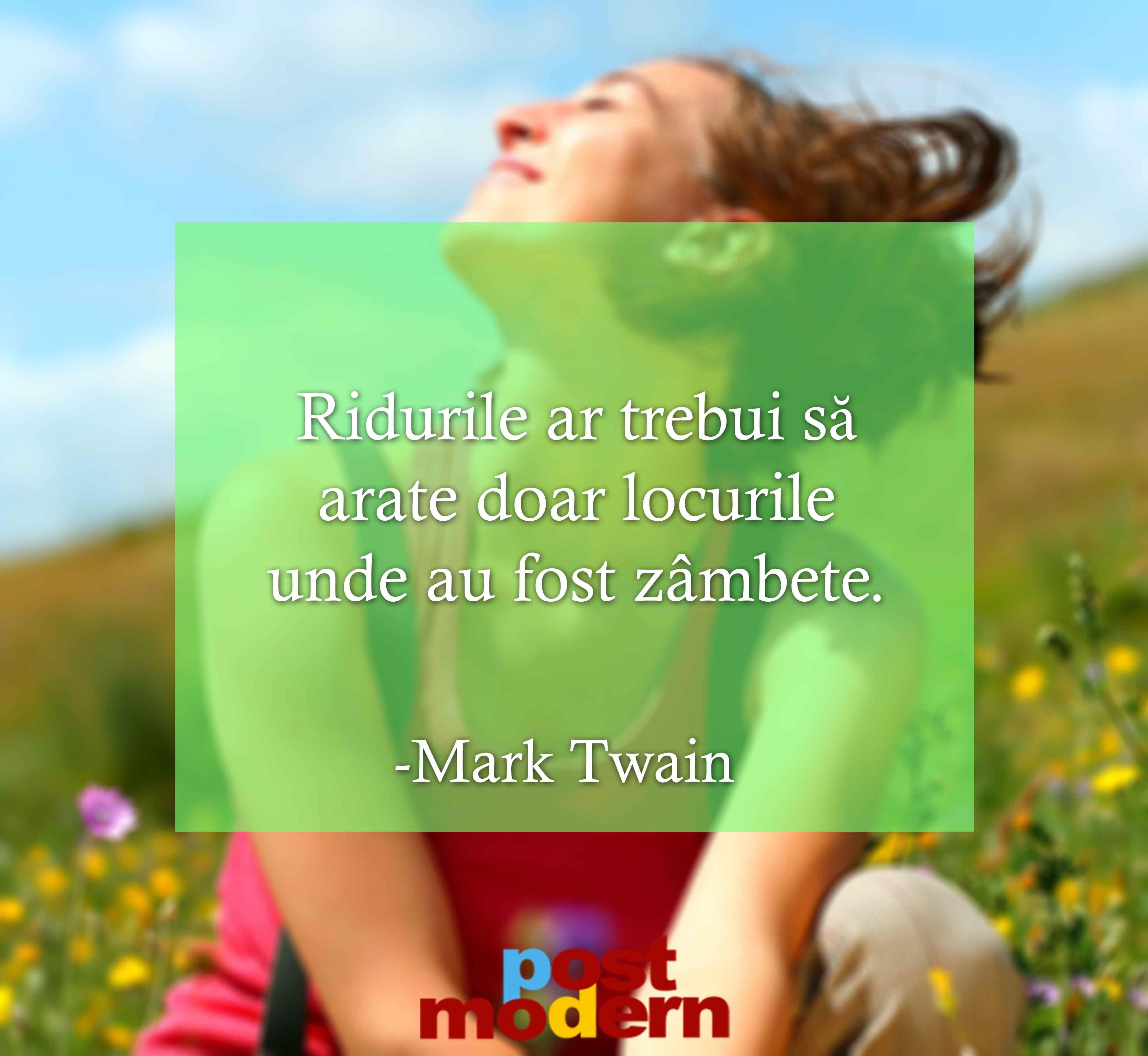 Mark Twain citate despre fericire