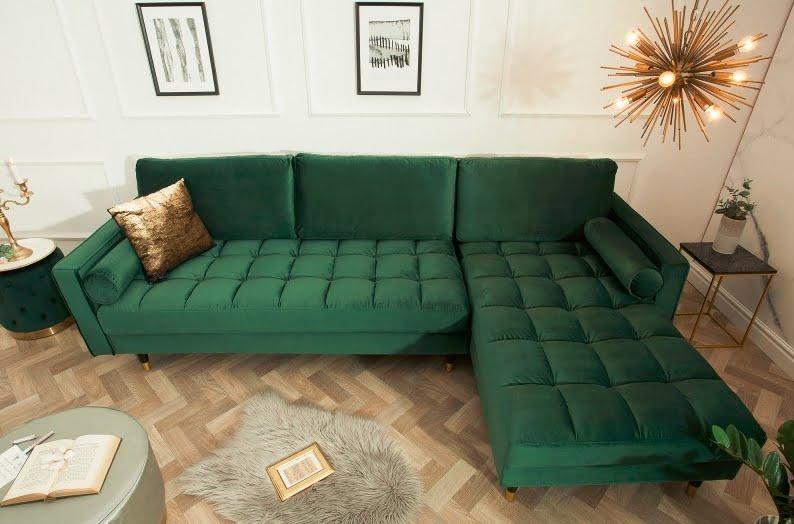 canapele living culoarea verde