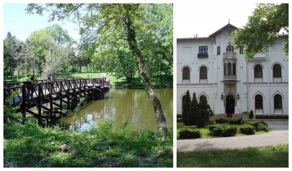 locuri de vizitat langa bucuresti palatul stirbey